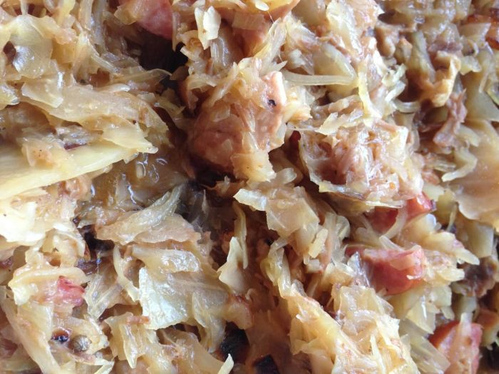 gotowy bigos - potrawa z przepisu na bigos w instantpocie