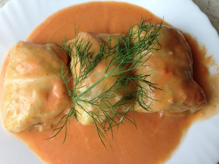 gitowe golabki w sosie pomidorowym z instant pota