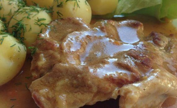 karczek i ziemniaki - przepis w instant pot