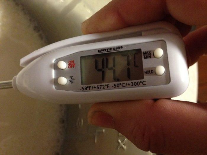 temperatura mleka w funkcji jogurt na instantpocie