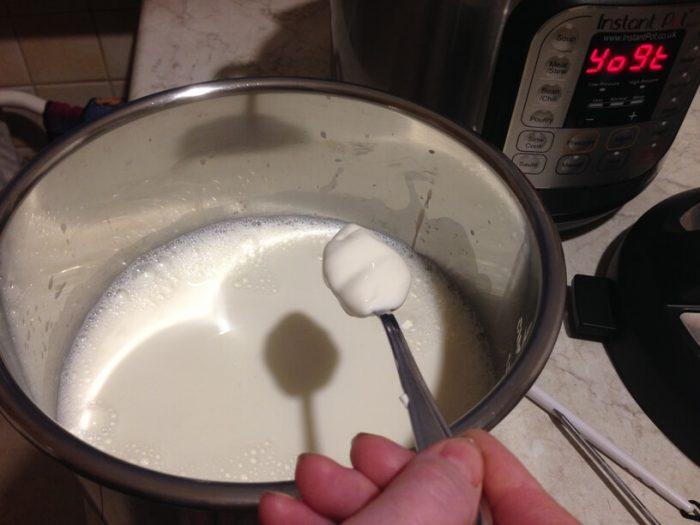 jogurt i mleko w garnku instantpot