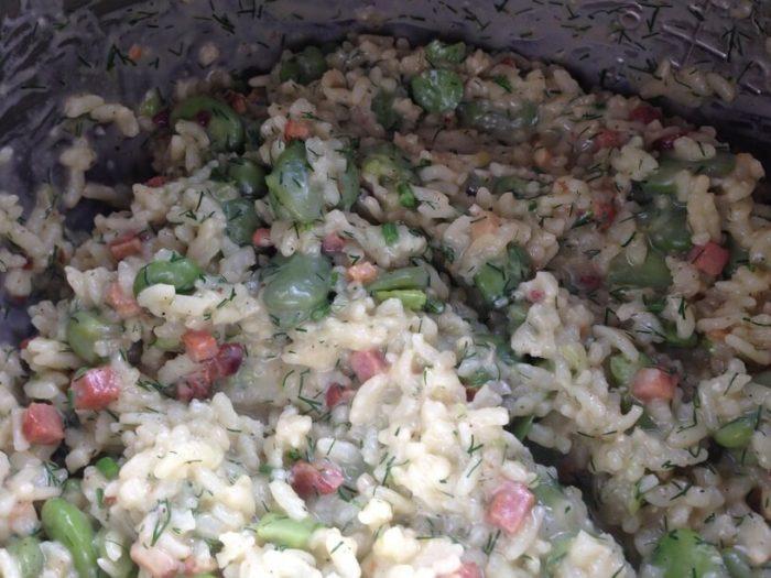 ugotowane risotto w instanpocie