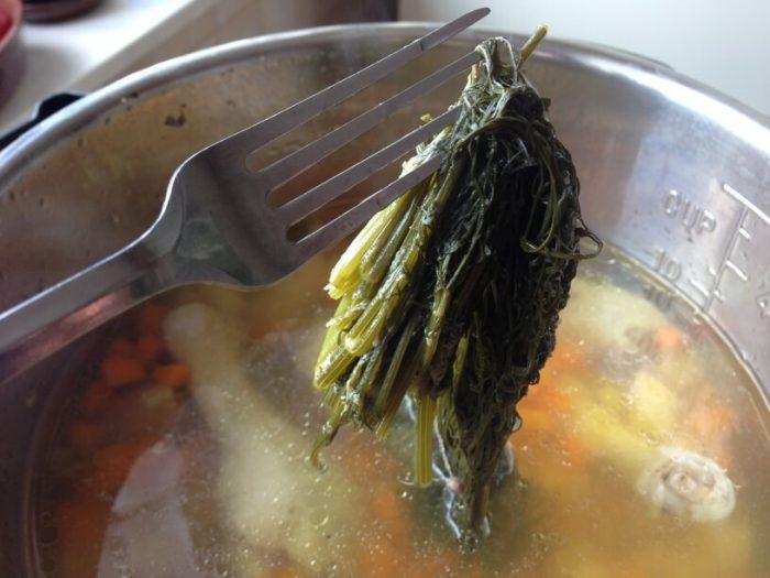 ugotowana zupa koperkowa w instantpocie