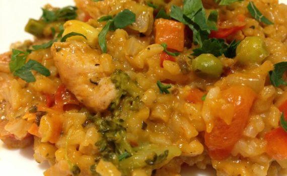 przepis na ryż z warzywami w instantpot