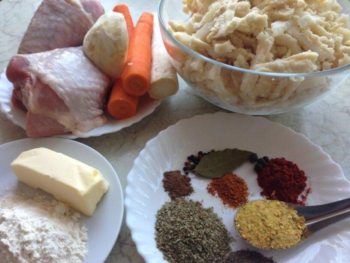 składniki na flaczki w instantpot