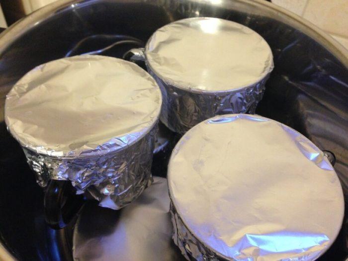 pasztet w filiżankach w garnku instant pot