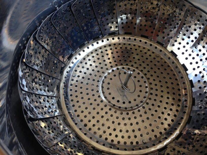 stalowa wkładka do gotowania na parze w garnku instantpot