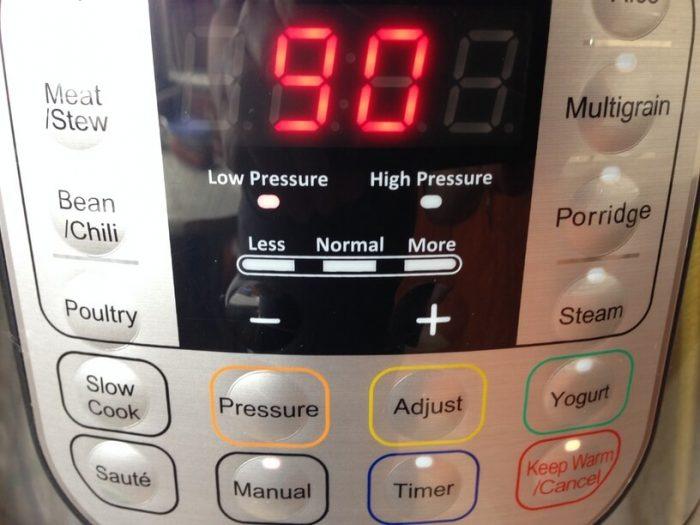panel kontrolny instantpot