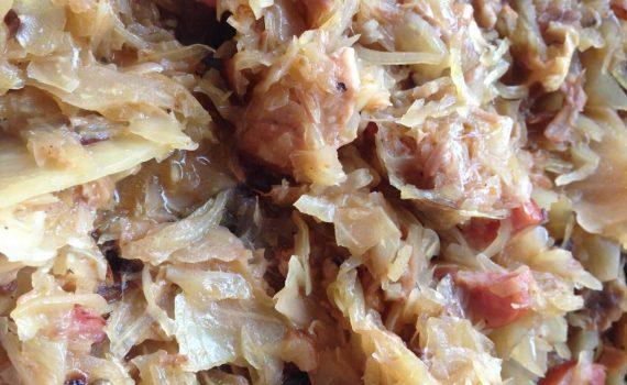 recipe for polishbigos - hunters stew in instant pot