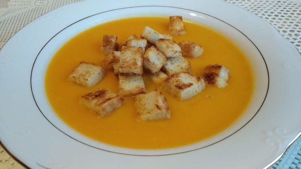recipe for pumpkin soup - instant pot club