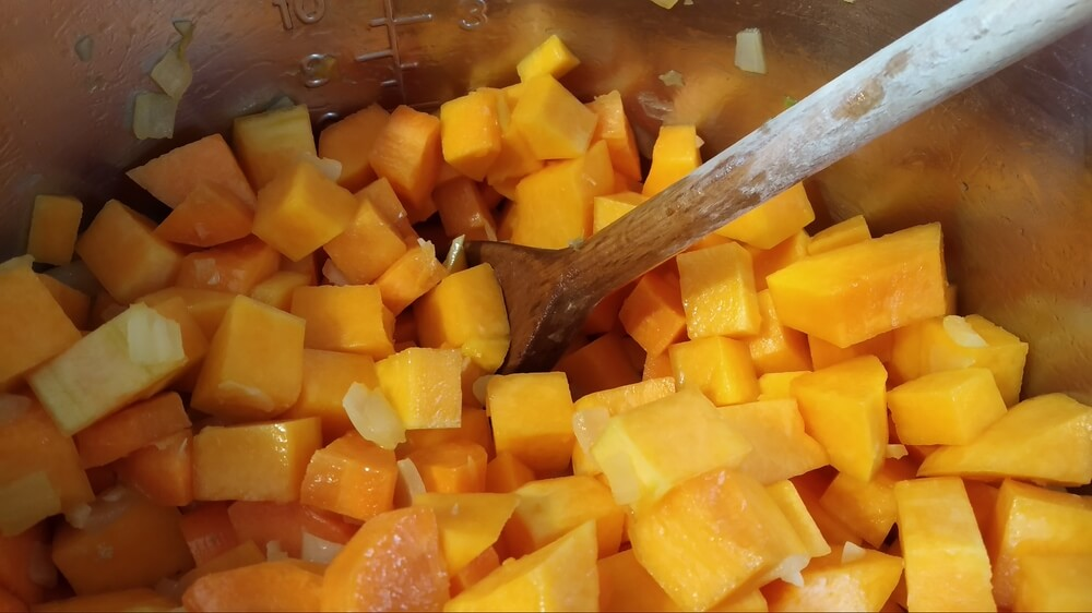 składniki na krem z dyni w garnku instant pot